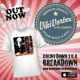 Now on iTunes! Plus – new TShirt!